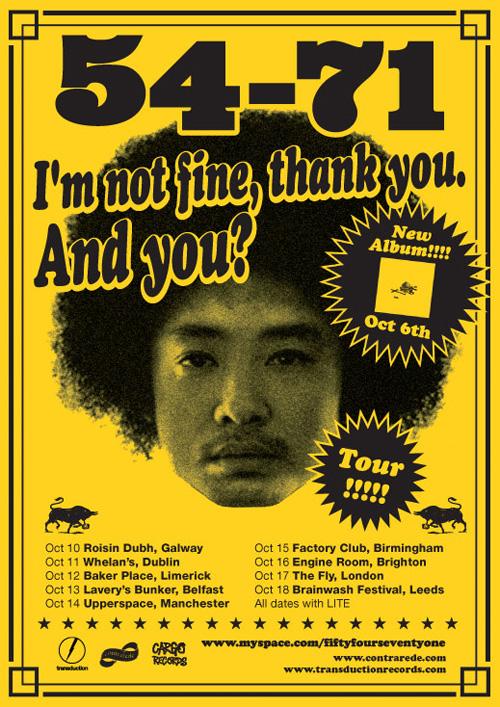 54 71 Im Not Fine Poster B