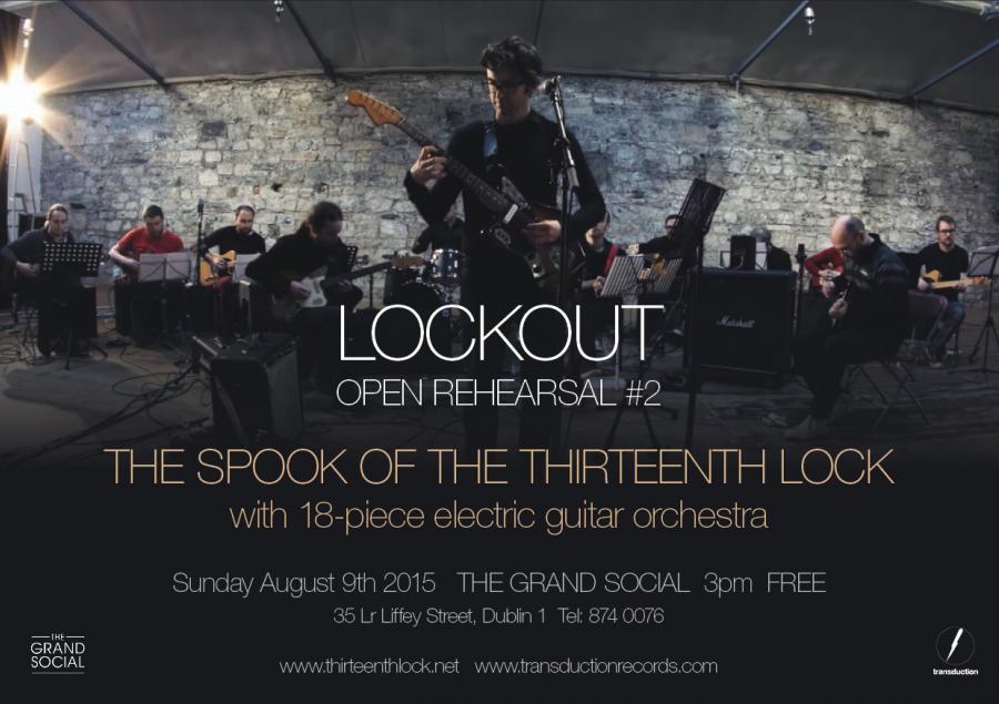 Spook Lockout Open Rehearsal 2015